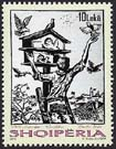 Albania new post stamp  Graphic Artworks