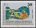 Macedonia new post stamp 150 years of the discovery of the periodic system of elements