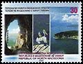 Macedonia new post stamp Tourism 2020